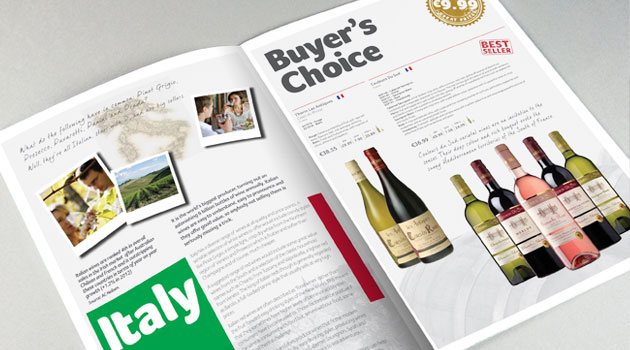 Wine Guide Brochure Design Ireland