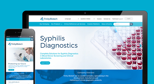 Launching a new website for a global diagnostic brand | RichardsDee
